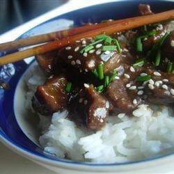 Sesame Beef Bites recipe