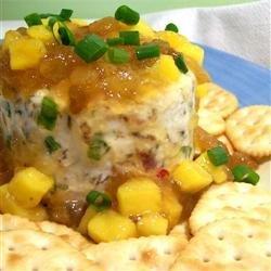 Mango Chutney Cheese Ball