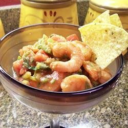 Tejano Style Shrimp Cocktail
