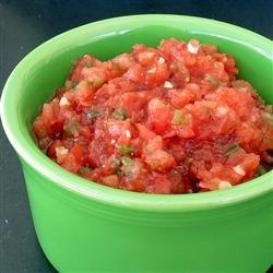 Ancho-Chipotle Salsa recipe
