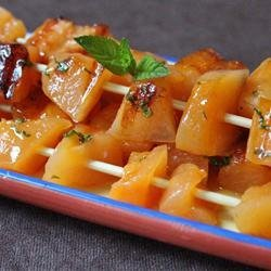 Skewered Cantaloupe recipe