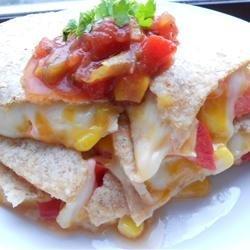 Cheesy Tortillas recipe