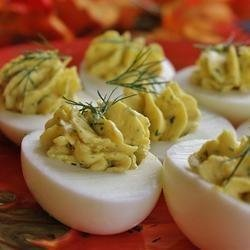 Classic Savory Deviled Eggs