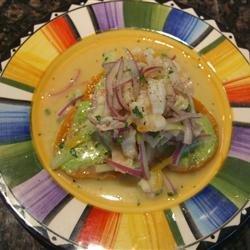 Ceviche Peruano recipe