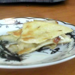 Pear and Brie Quesadillas recipe