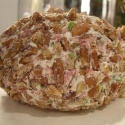 Cream Cheese and Chopped Dried Beef Ball
