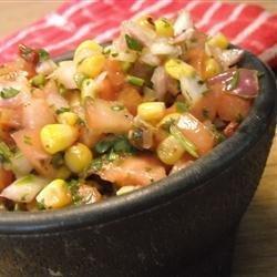 Chipotle and Roasted Corn Salsa recipe