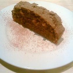 Chocolate Black Tea Cake