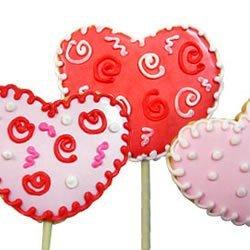 Lollipop Cookie Valentines recipe