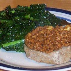 TVP and Cashew BBQ, Vegan Delight