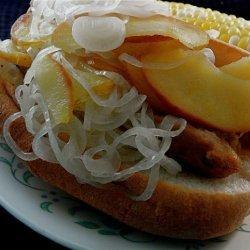 Mustard-Grilled Italian Sausage Sandwiches