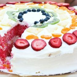 Strawberry 7-Up Cake