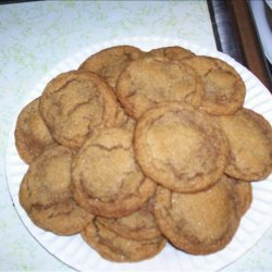 Gluten Free Gingersnap Cookies recipe
