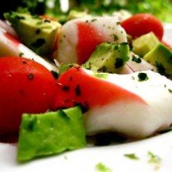 Imitation Crab (Surimi) and Avocado Salad