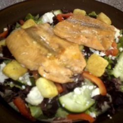 Easy and Delicious Baked Salmon Steaks (Low Carb)