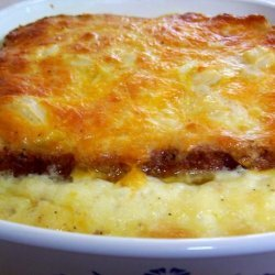 Cheese and Onion Pudding
