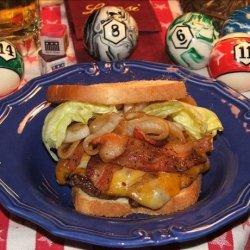 Bacon Cheddar Ranch Burgers!
