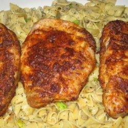 Boneless Pork Chops With Spicy Rub