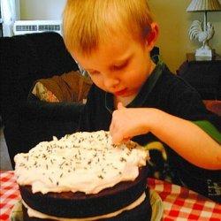 Deep Dark Chocolate Moist Cake