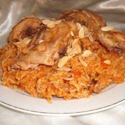 Al Kabsa - Traditional Saudi Rice (& Chicken) Dish