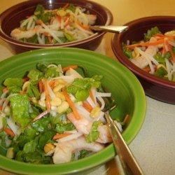 Thai Shrimp-And-Pasta Salad