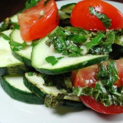 Broiled Zucchini With Herbs