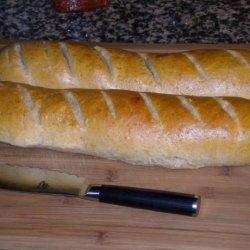 Bread Machine Italian Bread (Baked in Oven)
