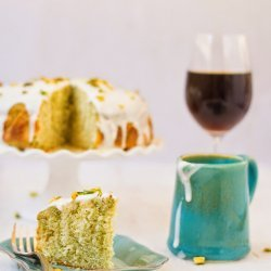 Pistachio Cake (from mix)