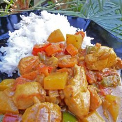 Micronesian Coconut Chicken Curry