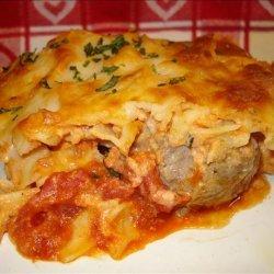 Paula Deen's Layered Meatball Casserole