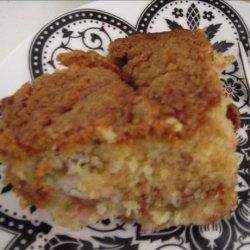 Rhubarb Lunar Cake