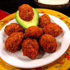 Taco Beef Nuggets With Dipping Sauce