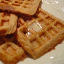 Whole-Wheat Cinnamon Waffles