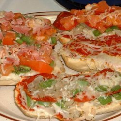 Better Than Frozen French Bread Pizza