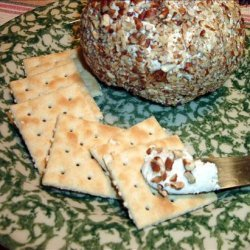 Ranch Chicken Cheese Ball With Pecans