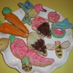 Old German Rose Water Sugar Cookies