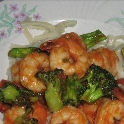 Shrimp & Broccoli in Chili Sauce (9 Ww Pts)