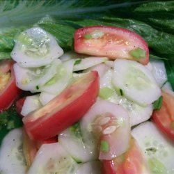 Bev's Marinated Cucumber Salad