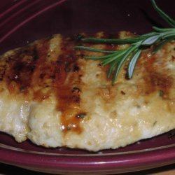 Grilled Chicken With Lemon, Rosemary, and Mustard
