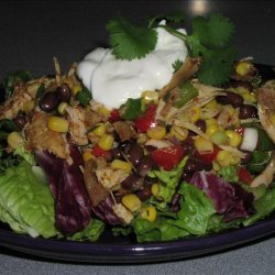 Ww Southwestern Chicken-Bean Salad