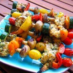Grilled Garlic Pepper Shrimp