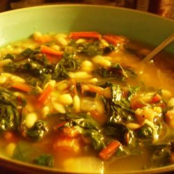 Chard and White Bean Soup recipe