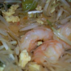 Paad Thai - Shrimp (Stir-Fried Thai Noodles)