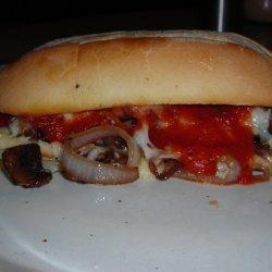 Sausage Sandwich (Italian Style)