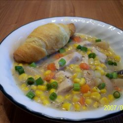 Crock Pot Chicken Chowder