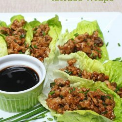 Pf Chang's Chicken-Lettuce Wraps