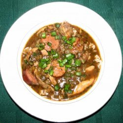 Authentic Cajun Chicken and Sausage Gumbo recipe