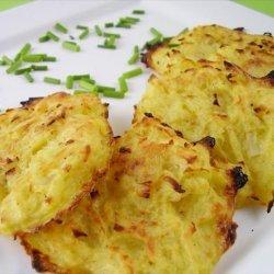 Un-Fried Potato Latkes