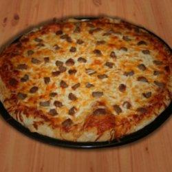 Guilt Free Whole Wheat Pizza Dough