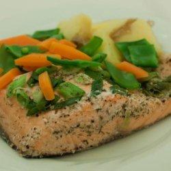 BBQ Salmon Filet recipe